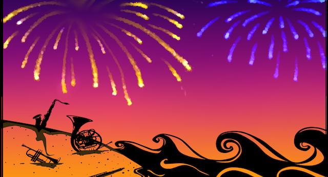 Summer Sparkler Concert carousel