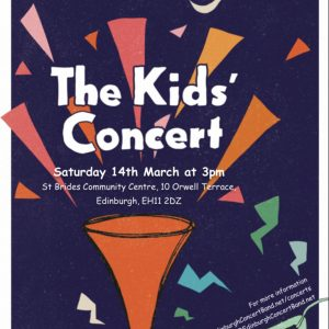 Children's Concert Flyer