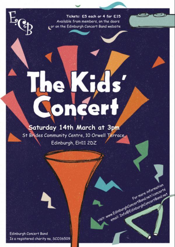 Children's Concert Flyer